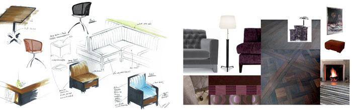 purismus wohnung mit eklektischer einrichtung, berenfeld interieur: interieurdesign in braunschweig, Design ideen